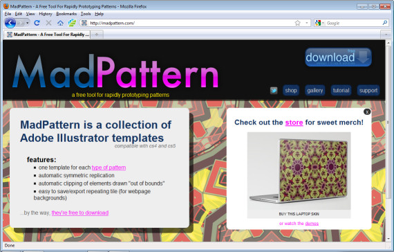 Quick and easy pattern making in Illustrator CS4 & CS5
