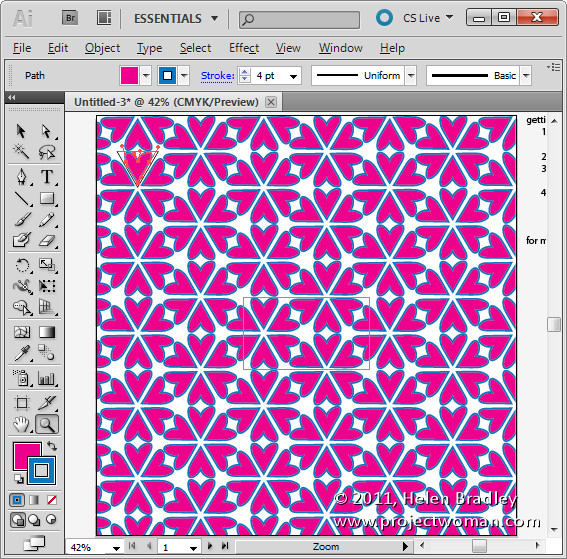 Quick And Easy Pattern Making In Illustrator CS40 CS40 Adorable Repeat Pattern Illustrator