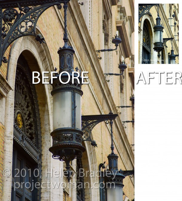 before after2 e1315921474353 Batch resize images in Photoshop Elements