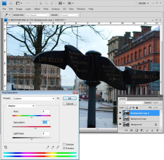 how to use photoshop fix