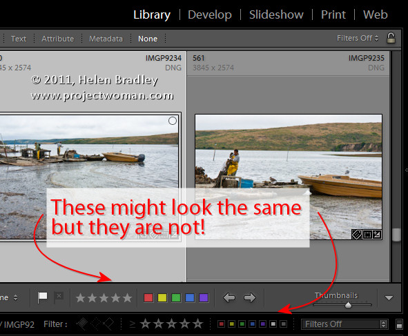 toolbar 4 Secrets of the Lightroom toolbar