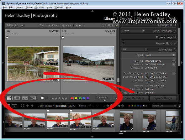 toolbar opener Secrets of the Lightroom toolbar