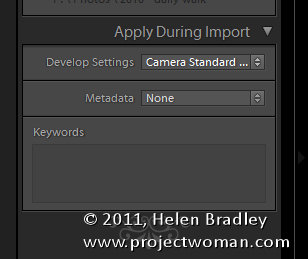 Lightroom import dialog 5 things to know 2 5 Things to know about the Lightroom Import dialog