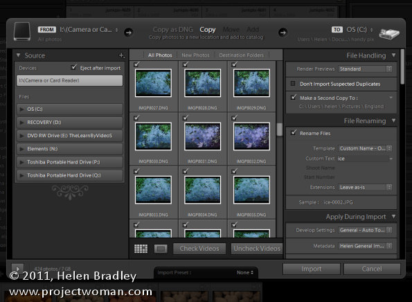 Lightroom import dialog 5 things to know opener 5 Things to know about the Lightroom Import dialog