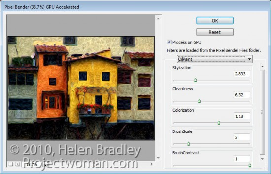 Pixel Bender step3 e1317676997619 Photoshop CS5: Oil Painting with Pixel Bender
