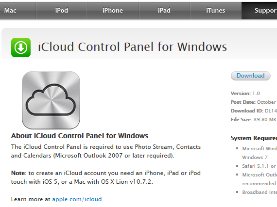 icloud for pc free download How to set up your PC and your iPad for the free iWork and iCloud