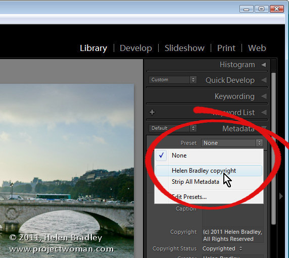 iptc metadata in lightroom 7 Lightroom: Add your IPTC metadata on Importing images