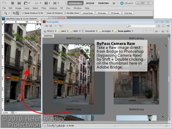 step2 e1317676412370 3 Cool tips for working in Adobe Bridge