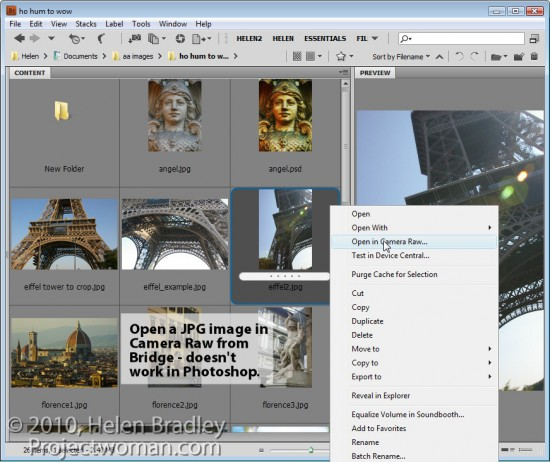 step3 e1317676432670 3 Cool tips for working in Adobe Bridge