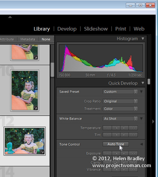 Lightroom happy snap workflow step6 A Happy Snap Lightroom workflow