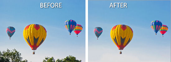 Photoshop content aware fill before after Smarter Content Aware Fill