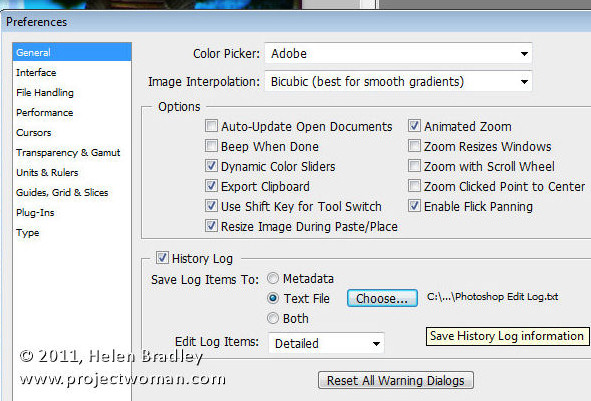 Photoshop saving presets and settings 41 Photoshop   6 must save settings