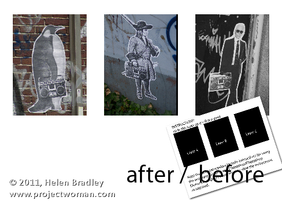 PS collage before after Templates in Photoshop