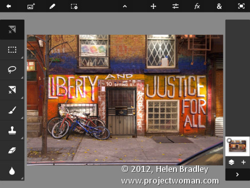 Photoshop touch first looks step4 Edit and Create on the go with Adobe Photoshop Touch