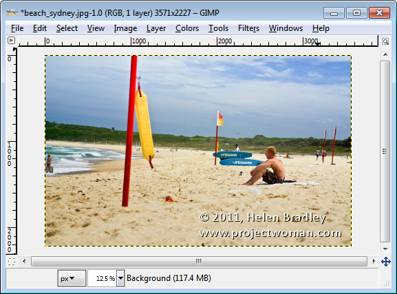 gimp content aware resizing liquid rescale 2 Content aware resizing in Gimp