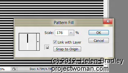 pattern fill scale pattern photoshop 2 Scale a Pattern in Photoshop