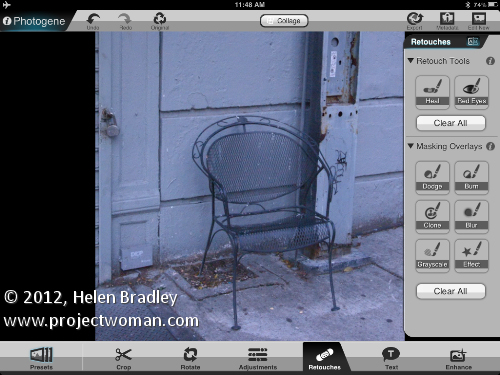 photo editing ipad photogene2. Photo editing in Photogene