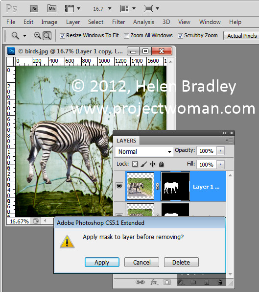 Photoshop collage add shadow 3 Anchor an Object with a Shadow in Photoshop