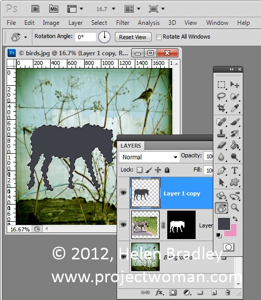 Photoshop collage add shadow 4 Anchor an Object with a Shadow in Photoshop
