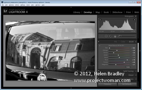 black and white photography convert Photographing in Black and White Part 7 Your Digital Workspace