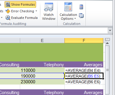 excel formulas 5 Cool Excel 2010 tips and tricks