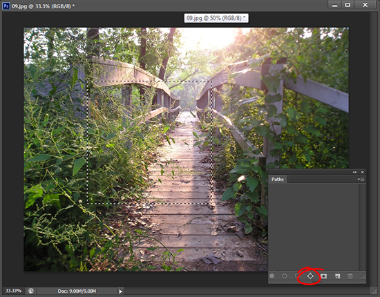 09 Trevors Photoshop tip of the Week   Make a Path from a Selection