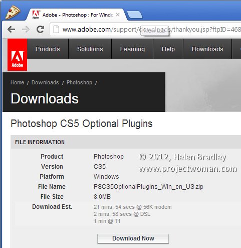 step1 Install Picture Package in Photoshop CS6   step by step
