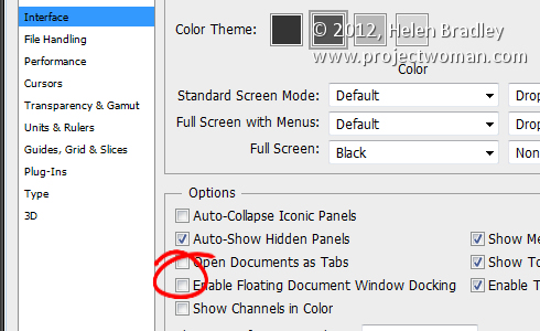 photoshop setup preferences4 Five Photoshop setup tips