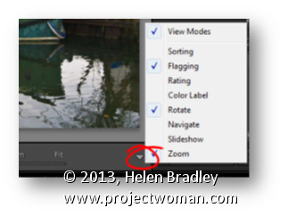 Lightroom Toolbar Option Lightroom Tip   Choose the features to appear on your Toolbars