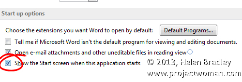 how to get rid of timestamps in word 2003