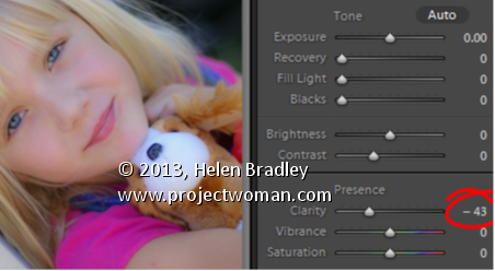Lightroom Clarity and Portraits DevMod Lightroom Tip   Clarity and Portraits