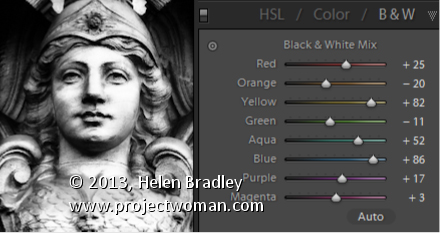 Lightroom Getting a Better Black and White Lightroom Tip   Getting a better Black and White image