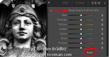 Lightroom Getting to Black and White Lightroom Tip   Shortcut key to make your Image Black and White