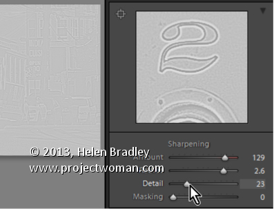Lightroom Supress Halos with the Detail Slider Lightroom Tip   How to manage halos when sharpening