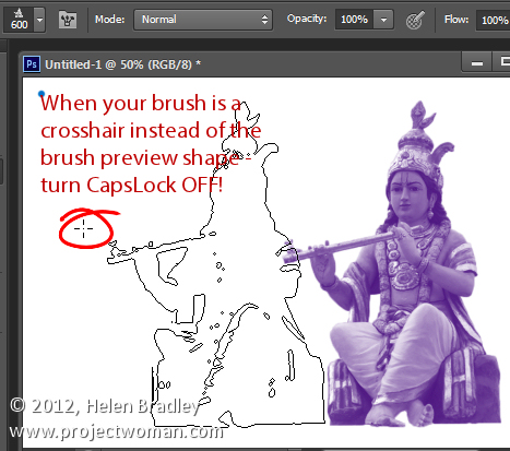 5 things to know about photoshop brushes 3 Photoshop Tip   5 Things to Know About Photoshop Brushes