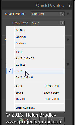Lightroom batch crop and resize 2 Lightroom Tip   Batch Crop & Resize