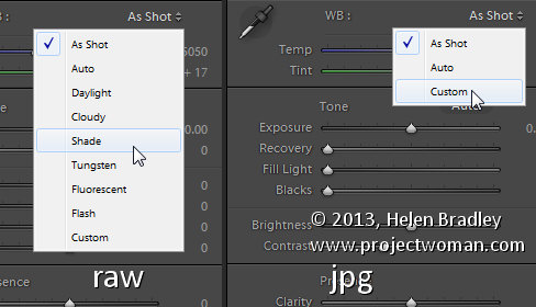 Lightroom white balance 1 Lightroom Tip   Adjusting White Balance