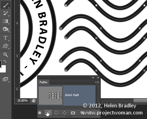 make a watermark image in photoshop step13 Photoshop Tip   Create an Image Watermark