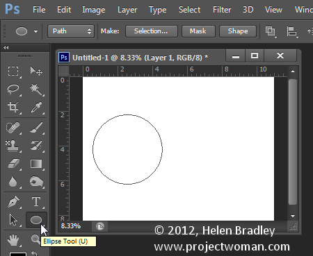 make a watermark image in photoshop step2 Photoshop Tip   Create an Image Watermark