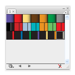 how to make graident with colour on adobe illustrator