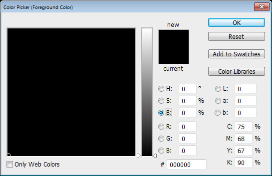 Photoshop Color Picker HSL b channel Help! My Photoshop Color Picker looks weird