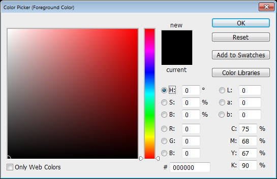 Photoshop Color Picker HSL h channel Help! My Photoshop Color Picker looks weird