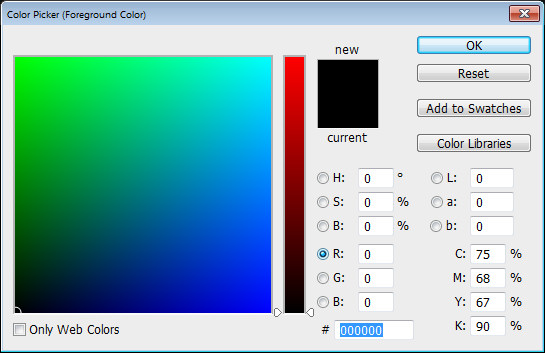 Photoshop Color Picker RGB r channel Help! My Photoshop Color Picker looks weird