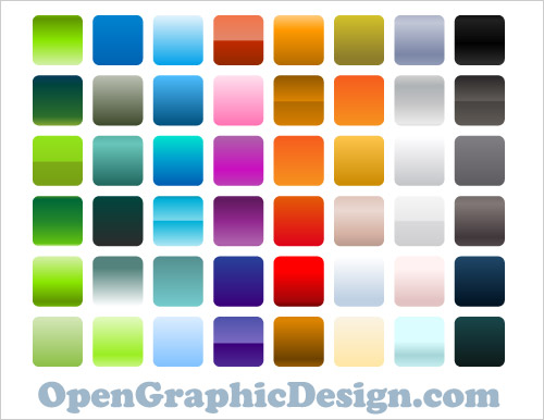 colorful vector gradients 6 Sites for free Illustrator Gradient Swatches