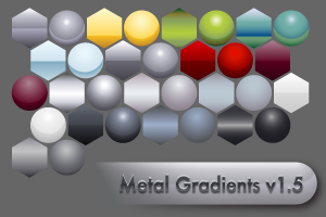 metal from adobe 6 Sites for free Illustrator Gradient Swatches