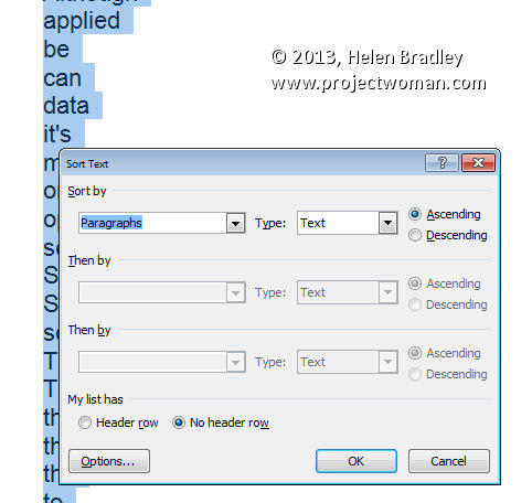 how to search for a word in word document 2007