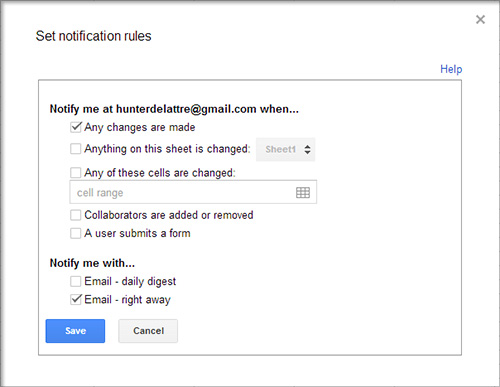 notifications1 Google Drive Spreadsheet Notifications