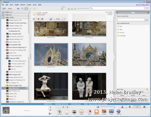 workflow picasa keywording Rev Up Your Photo workflow   Part 2   Keywords and Copyright Metadata