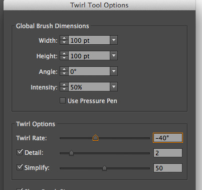 reverse twirl tool in illustrator 2 Illustrator   reverse the twirl tool