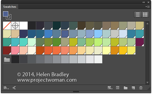 illustrator swatches opener Create a new Default Custom Swatch in Illustrator CC